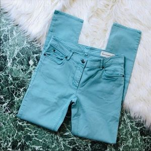 Two by Vince Camuto | Teal Stretch Skinny Jeans